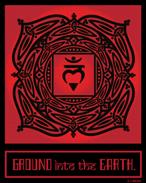 celtic tribal root chakra